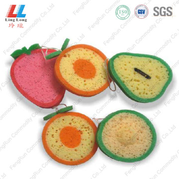 Variety Fruit Shape Sponge Product