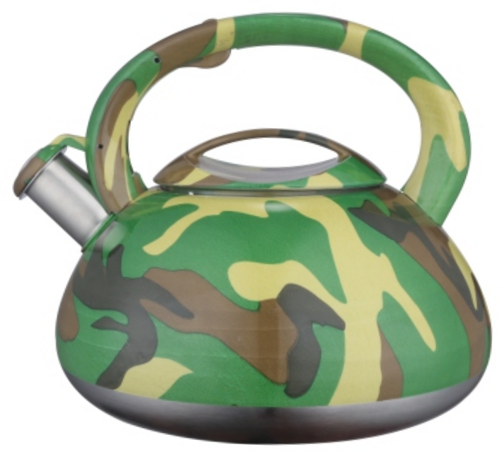 KHK059 2.5L color painting decal whistling teakettle