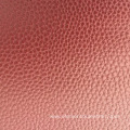 synthetic PU leather with litchi grain pattern