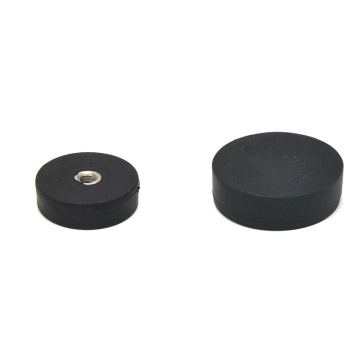 NSM-G43 Coated Rubber Magnet Holder for Taxi