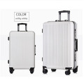 Customized design new fashion abs pc luggage