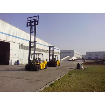 10 ton 6 meter high reach counterbalance forklifts