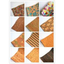 Cork Soft Textile Leather Fabric for Upholstery
