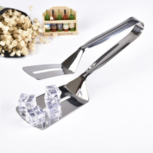 Muliti-functional Stainless Steel Steak Shovel Bread Tongs BBQ Spatula Tongs
