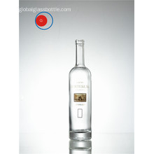 Round Shape Lower Slope Glass Bottle