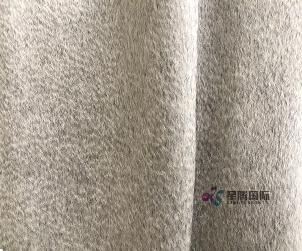 Fleece Woolen Plain Cashmere Fabric