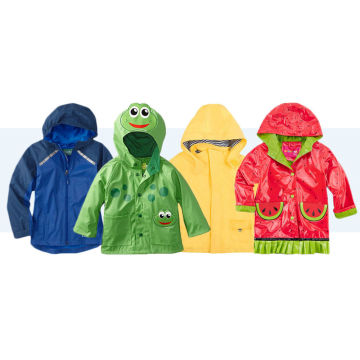 New Arrival for Children PU Raincoat Kids Polyurethane Lightweight Raincoat supply to Svalbard and Jan Mayen Islands Importers