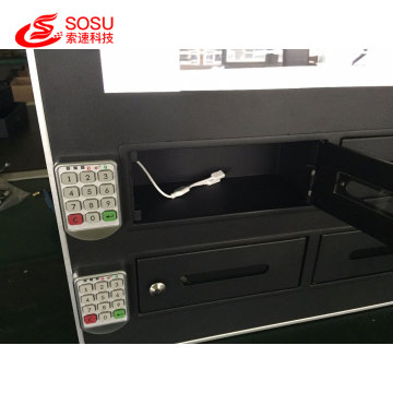 Wifi LCD Advertising Digital Signage phone Charging Machine