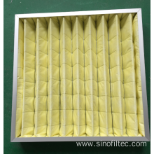 Customized for Mhepa Air Filters F7  Intermediate Bag  Air Filter supply to Seychelles Exporter