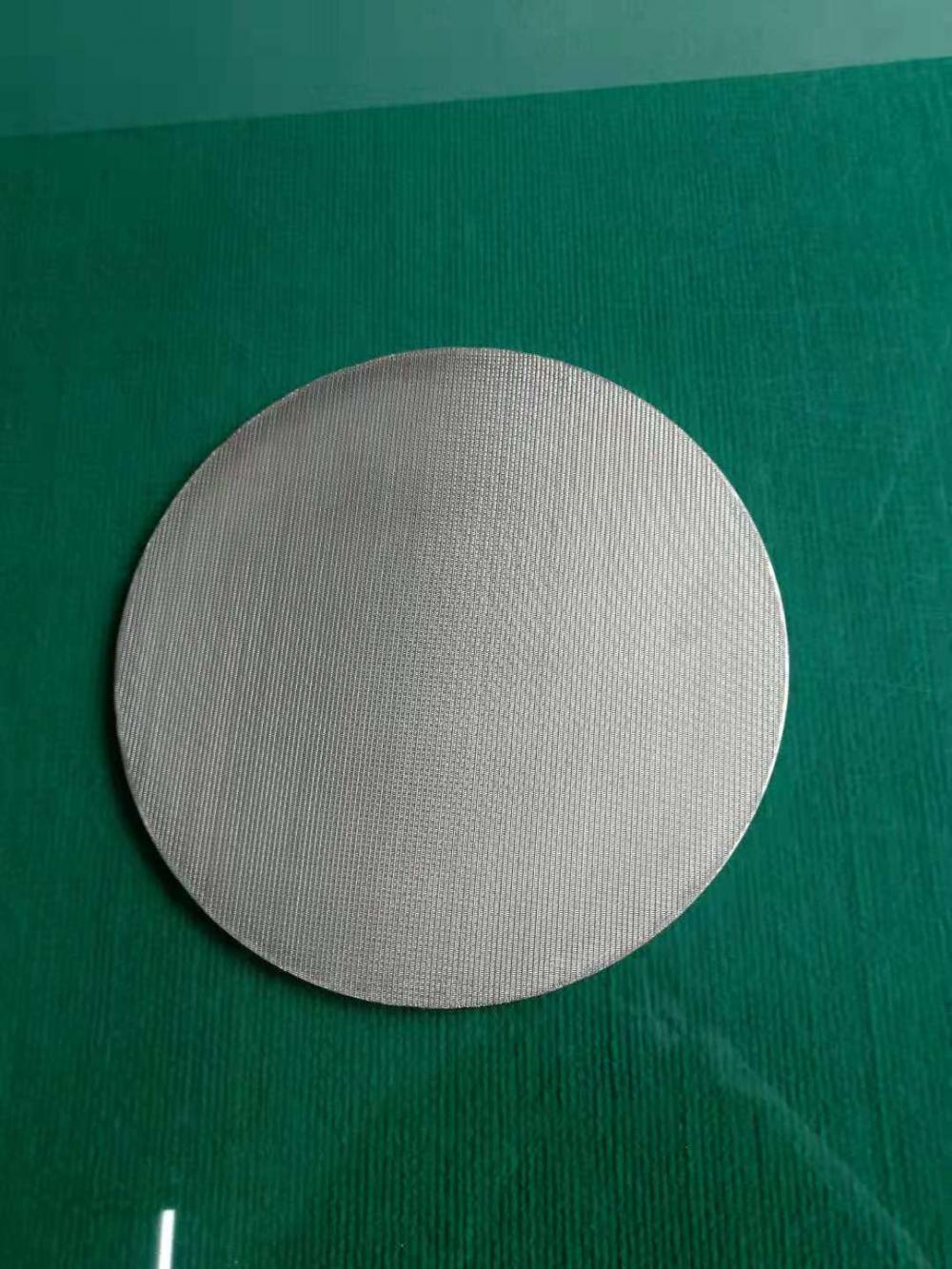 Sinrered Filter Disc