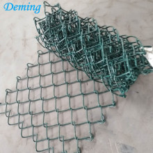 Used Decorative PVC Coated Chain Link Fence