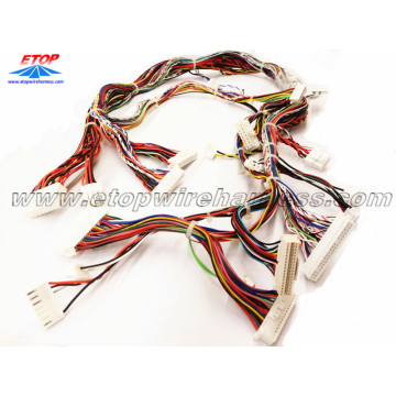 High Quality for custom wire harness for game machine Wiring assemblies for game machine export to Italy Importers