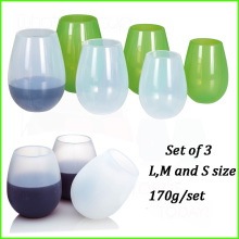 Good Quality for for Novelty Wine Glasses Silicone Insulated Drink Cups For Kids supply to Trinidad and Tobago Factory