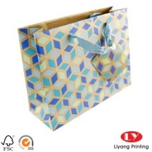 Customized high quality shopping paper bag