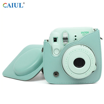 Caiul Cyan Instax Mini 8 Instant Camera Bag