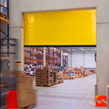 Rapid PVC Fabric Rolling Shutter Door