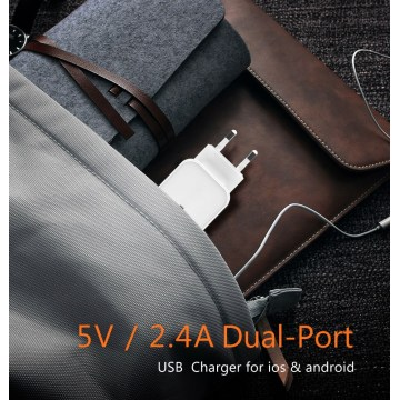 USB Charger For Dual Ports Charger Adapter