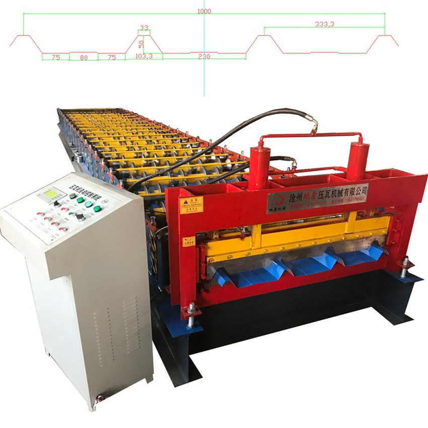 Automatic Metal Roof Panel Roll Forming Machine