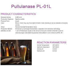 Supply for Brewing Enzymes Pullulanase for brew industry supply to Palestine Exporter