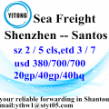 Shenzhen Sea Freight Shipping Agent to Santos