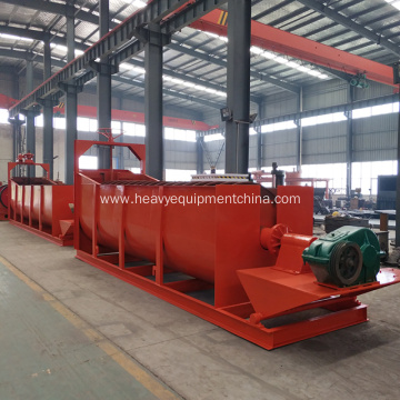 Screw Sand Washer Machine For Clay Cleaning Plant
