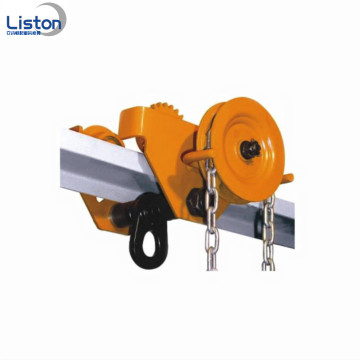 3ton handling tools geared material plain trolley