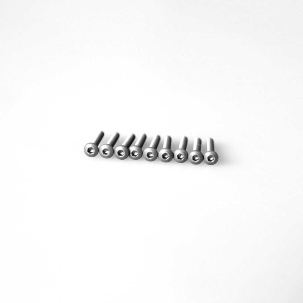Titanium Screw Button