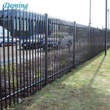 Powder Coated Cheap Wrought Iron Fence Panels