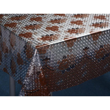3D Embossed PVC Tablecloth