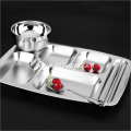 Top Quality Stainless Steel Dinner Plate For Kitchen