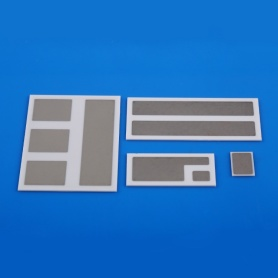 Electrical metallized ceramic substrate