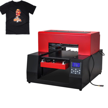 Flatbed Dtg T-shirt Printer