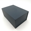 Black Magnetic Closure Gift Decorative Book Shaped Box