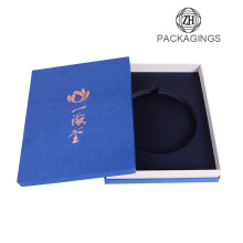 New custom logo printing CD card packaging box