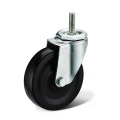 The Black Tubber Screw Caster Wheels