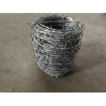 Factory price 12X14 galvanized barbed wire weight