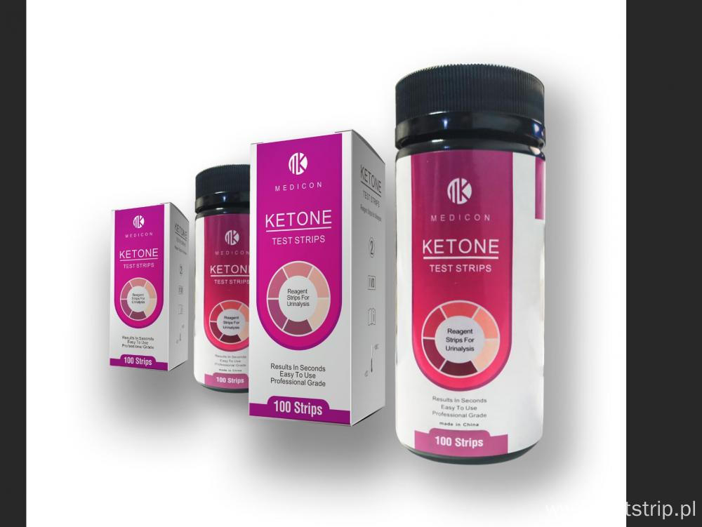 Urine Ketone Rapid Test Strips with CE