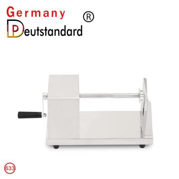 Commercial mini potato slicer with CE