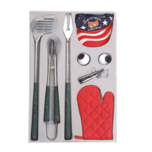 China for Grill Tools 8pcs golf bbq gift tools set supply to South Korea Manufacturer