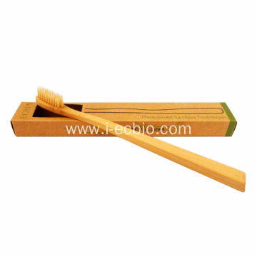 Ecological Adult Household Bamboo Toothbrush