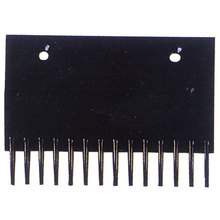Black Comb Plate , Escalator Components / Parts