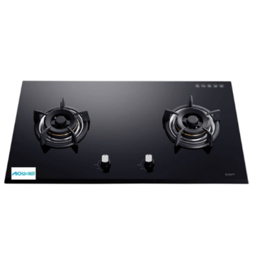 Hyper 2-Burner Built-in Gas Hob