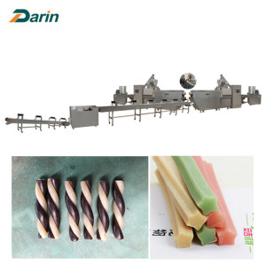 Jinan Darin Pet treats dog chews snacks making machine