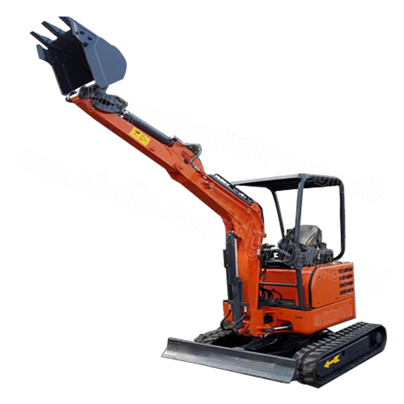 towable mini excavator-1