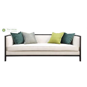Modern Living Room na Tela na Double Seat Sofa