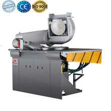 Electric induction metal foundry melting pot