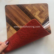 High quality linoleum floor felt back floor roll