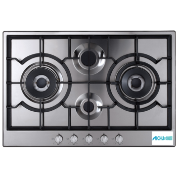 Four Burner Gas Hob With A Stylish Design