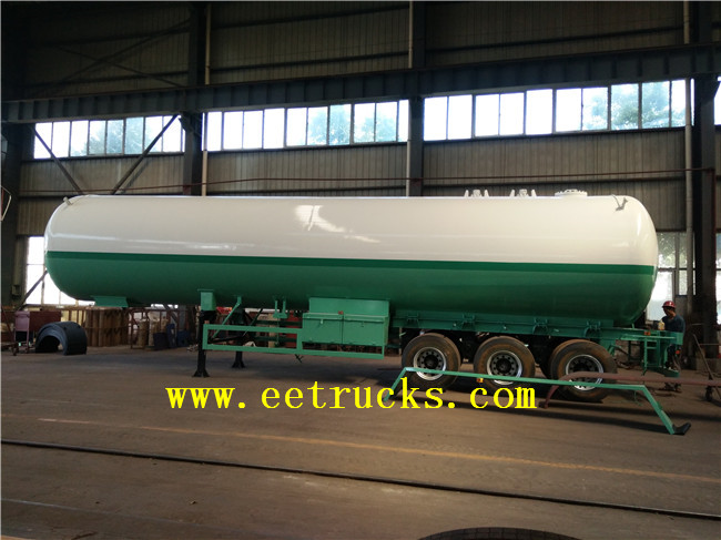 30 TON LPG Trailer Transport Tanks