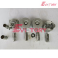 ISUZU engine parts piston 4JH1 piston ring